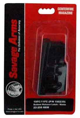 Savage Savage Magazine 10fc/11fc - .223/.204ruger 4-rnd Blued