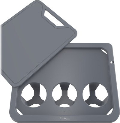 Otterbox Side Table/cutting - Board For Venture Coolers Grey