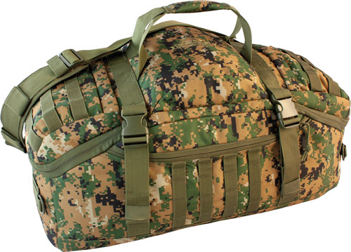 Red Rock Gear Red Rock Traveler Duffle Bag - Backpack/luggage Woodland Dig