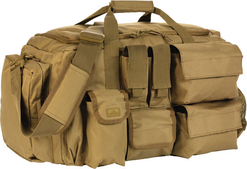 Red Rock Operations Duffle Bag - 7 External Utility Pouches Tan