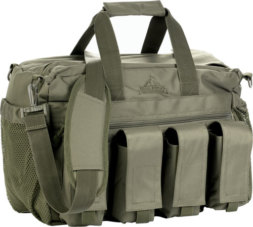 Red Rock Deluxe Range Bag Od - Fold Out Work/cleaning Gun Mat