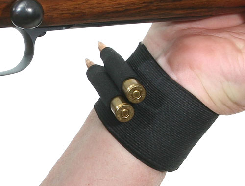 Toc Wrist Buddy Holds 2 - Catridges Black