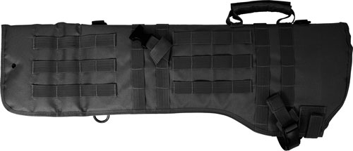 Red Rock Molle Rifle Scabbard - Black