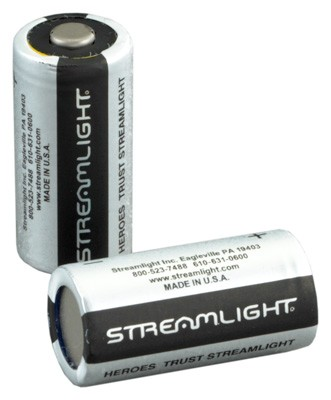 Streamlight Cr123a Batteries - Lithium 2-pack