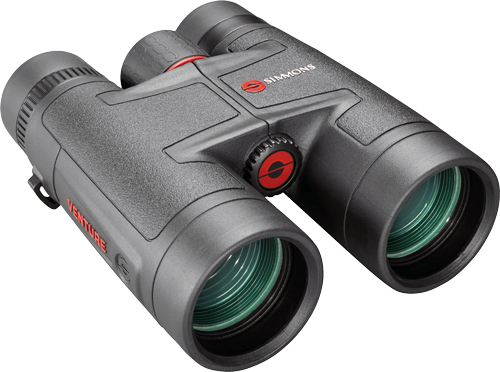 Simmons Binoculars Venture - 10x42 Roof Soft Case Black