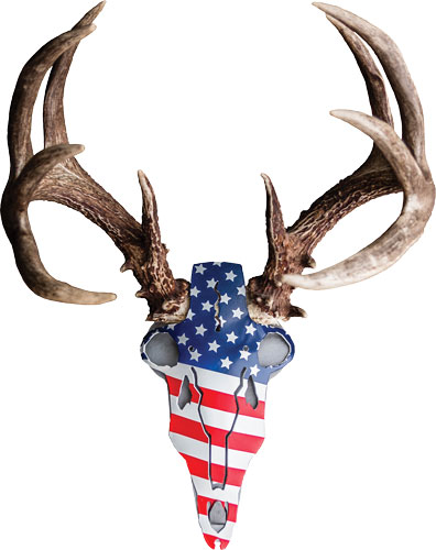 Do-all Horn Mounting Kit - American Iron Buck Red/wht/blu