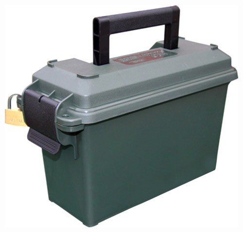 Mtm .30 Caliber Ammo Can Tall - Forest Green Lockable