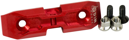 Odin Works Odin Bipod Adapter Keymod - Low Profile Red
