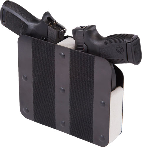 Benchmaster Two Pistol Rack - Velcro Hook