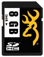 Browning Sd Memory Card 8gb - Class 10