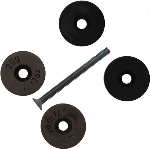 Beretta B-fast Stock Weights - Set Of 5