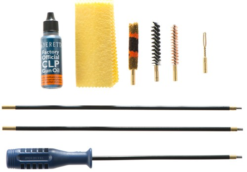 Beretta Basic Cleaning Kit - .243/6mm/.25 Rifle Clampacked