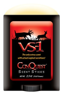 Conquest Scents Deer Lure - Vs-1 Estrus 2.5oz Stick