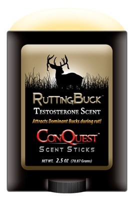 ConQuest Conquest Scents Deer Lure - Rutting Buck 2.5oz. Stick