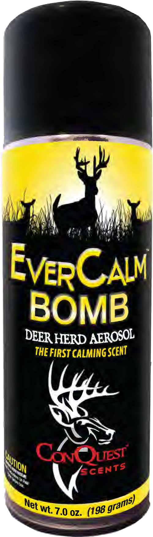 Conquest Scents Deer Lure Ever - Calm Bomb Aerosol 7fl Oz