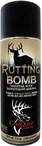 Conquest Scents Deer Lure - Rutting Buck Bomb Aerosol 7oz
