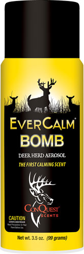 Conquest Scents Deer Lure Ever - Calm Bomb Aerosol 3.5fl Oz