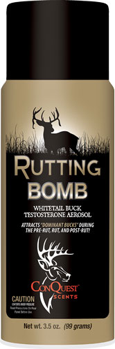Conquest Scents Deer Lure - Rutting Buck Bomb Aero 3.5oz