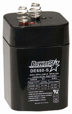 American Hunter Battery - Rechargeable 6v 5amp Springtop