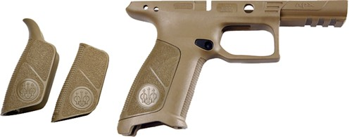 Beretta Frame Apx Flat Dark - Earth-no Finger Grooves Poly