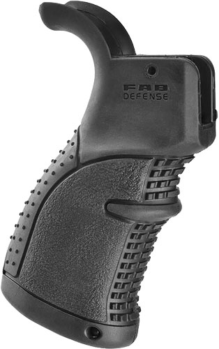 F.A.B. Defense F.a.b. Defense Rubberized - Ergo Pistol Grip Ar-15 Black