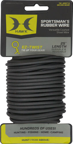 Hawk Sportsmans Rubber Wire -