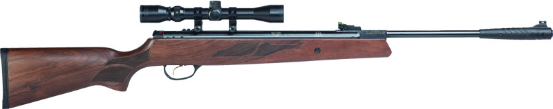 Hatsan Model 95 Spring Combo - .177 W/optima 3-9x32 Walnut