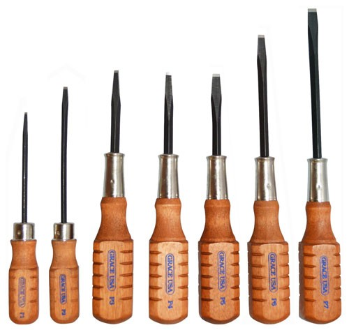 Grace Usa Screwdriver Set - Pistolsmith Gun Care Set Of 7