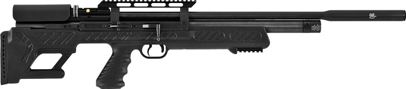Hatsan Bullboss .22 Pcp 1250 - Fps Black/synthetic W/2 Mags