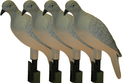 Mojo Clip On Dove Decoy Set Of - 4