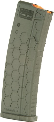 Hexmag Magazine Ar-15 5.56x45 - 15rd Od Green Polymer Series 2