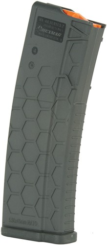 HexMag Hexmag Magazine Ar-15 5.56x45 - 30rd Gray Polymer Series 2