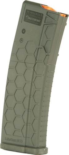 Hexmag Magazine Ar-15 5.56x45 - 30rd Od Green Polymer Series 2