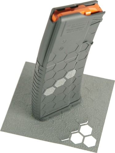 Hexmag Gray Grip Tape - 46 Hex Shapes For Hexmags