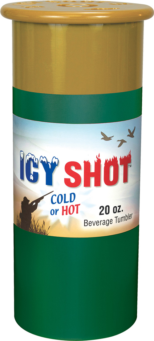 Psp Icy Shot 20 Oz Tumbler - Shotgun Shell Look Green
