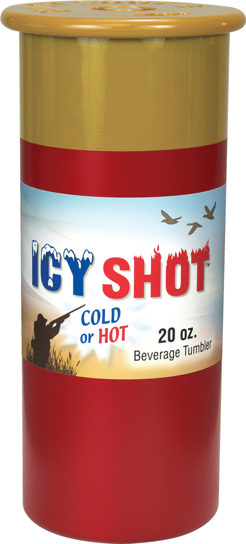 Psp Icy Shot 20 Oz Tumbler - Shotgun Shell Look Red