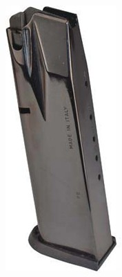 Beretta Magazine 92fs 9mm - Luger 17-rounds Blued Steel