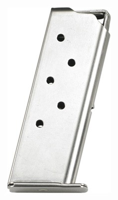 Beretta Magazine Pico .380acp - 6-rounds Flush Stainless Steel