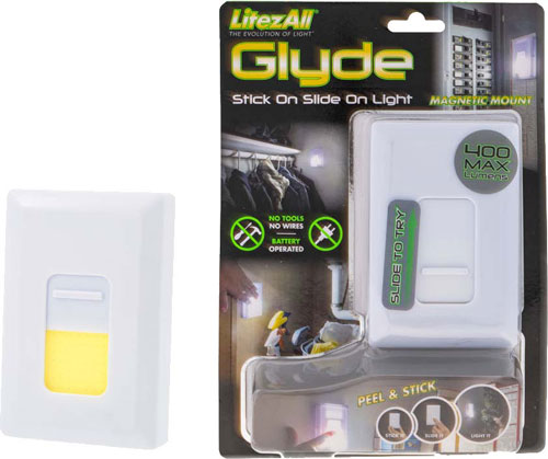 Promier Glyde Wireless Light - Switch Adhesive & Magnet