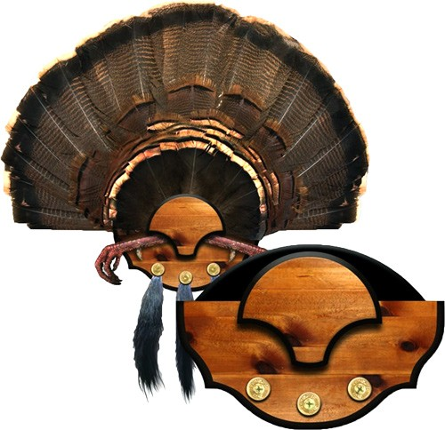 Mountain Mike's Beard Master - Turkey Plaque Kit