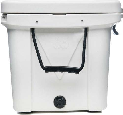 Mammoth Ranger Series Coolers - 65 Quart White W/rope Handles