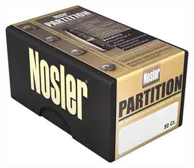 Nosler Bullets Nosler Bullets 25 Cal .257 - 100gr Partition 50ct
