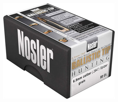 Nosler Bullets 6.5mm .264 - 100gr Ballistic Tip 50ct