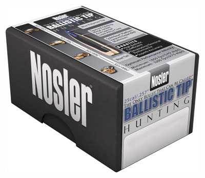 Nosler Bullets 8mm .323 - 180gr Ballistic Tip 50ct