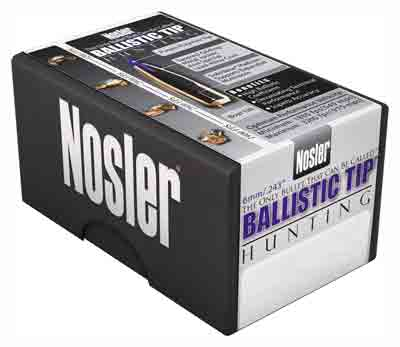 Nosler Bullets 6mm .243 - 55gr Ballistic Tip 250ct