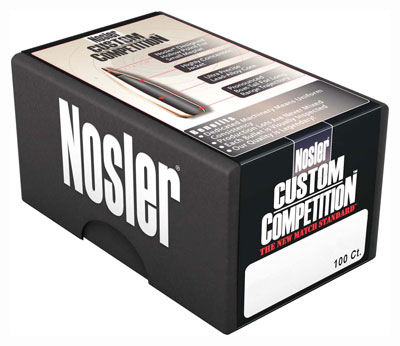 Nosler Bullets 30 Cal .308 - 175gr Hp-bt Custom Comp. 100ct