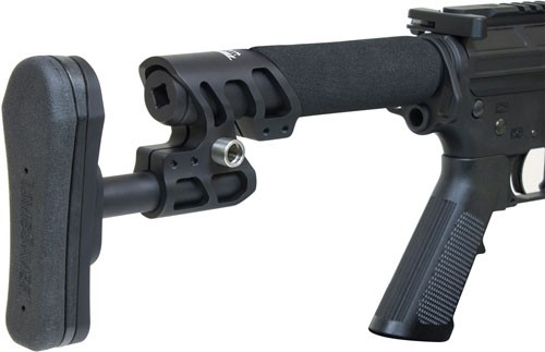 Odin Stock Zulu 2.0 W/padded - Buffer Tube Black For Ar-15