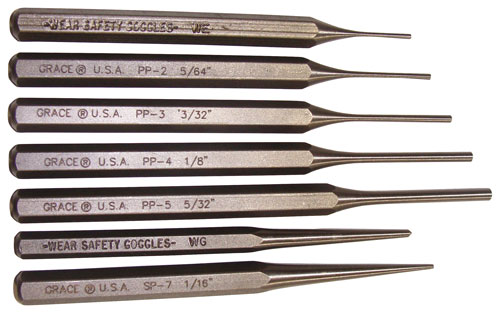 Grace Usa Punch Set - Punch Set Of 7 Steel
