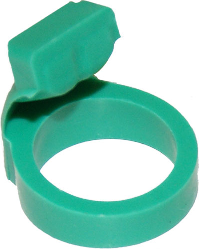 Rocky Mountain Hunting Calls Rmhc #128 Conqueror Mouthpiece - Green Replacement Tongue