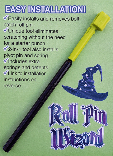 Roll Pin Wizard Bolt Catch - Roll Pin Tool For Ar-15
